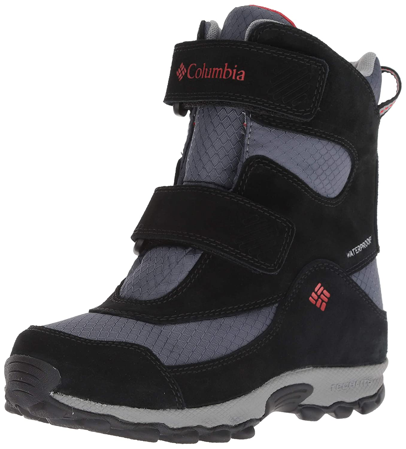 Columbia Kids' Youth Parkers Peak Velcro Waterproof Winter Boot Snow 1795491