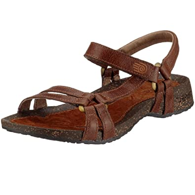 4038e7df9843 Teva Womens Ventura Cork 2 Leather Sandal