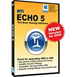NTI Echo 5 | New Version! | The Best Cloning Software. It Simply Works | Make an exact copy of a HDD, SSD or NVMe, with…