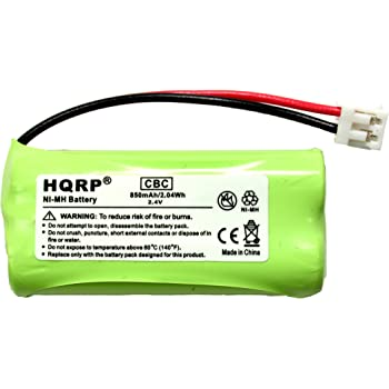 Amazon Com Hqrp Cordless Telephone Phone Battery For At Amp T