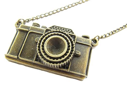 Amazon large camera pendant necklace fashion jewelry antique large camera pendant necklace fashion jewelry antique vintage bronze10pcs aloadofball Gallery