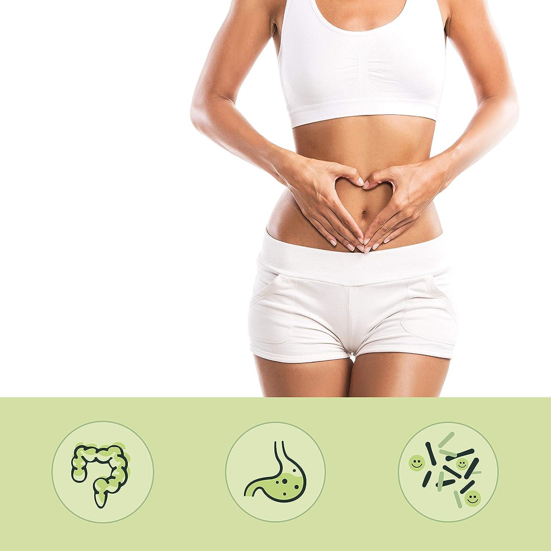 BIO Probióticos Veganos + Inulina (Prebiótico) Orgánica Vegavero® | EL ÚNICO ORGÁNICO Y SIN ADITIVOS | Testado en Laboratorio | Flora Intestinal + ...