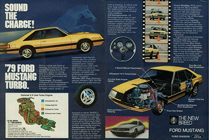 Ford Mustang Turbo ad 1979