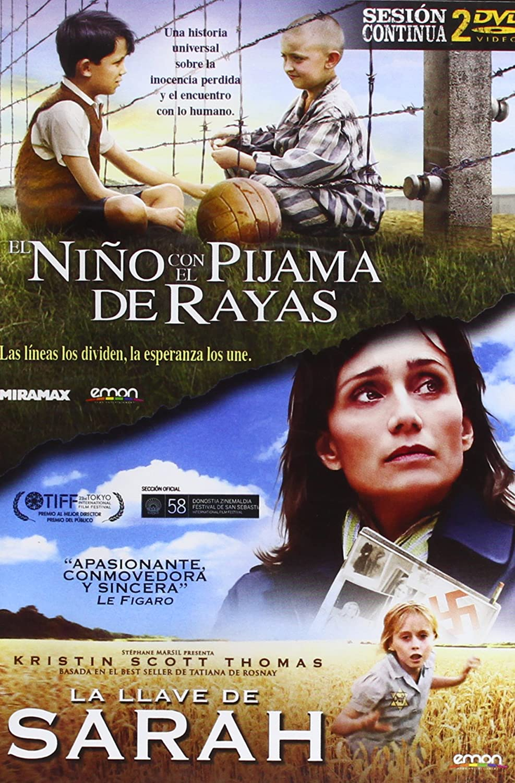 Pack: El Niño Con El Pijama De Rayas + La Llave De Sarah DVD: Amazon.es: Asa Butterfield, Kristin Scott Thomas, Mark Herman, Giles Paquet-Brenner: Cine y ...