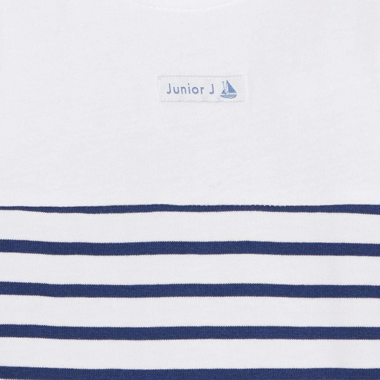 Debenhams J by Jasper Conran Kids Babies Blue Striped Sleepsuit and Hat Set
