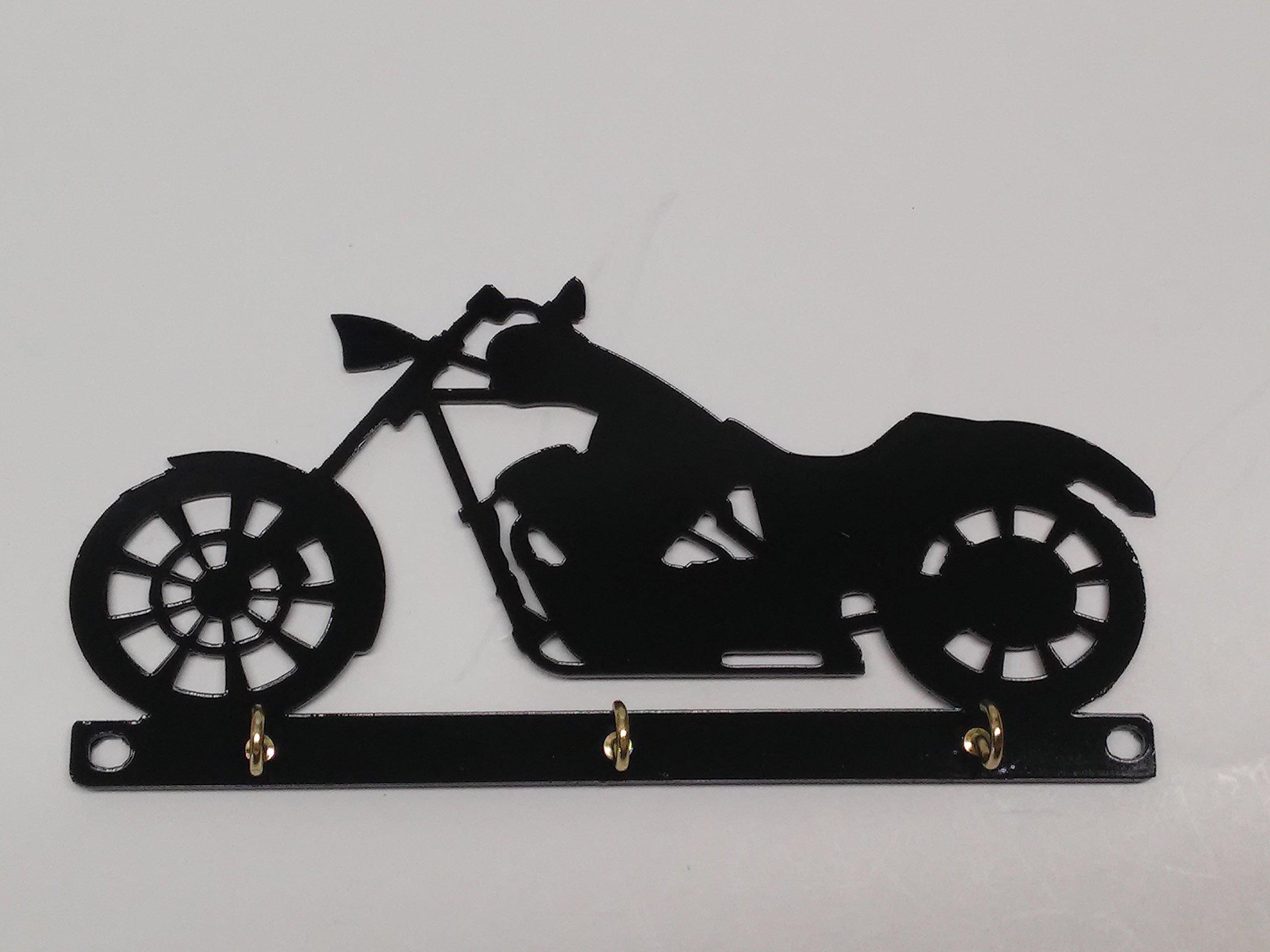 Chopper Motorcycle Key Holder Rack Hook Organizer Wall Mounted by Cycle Key Racks (Image #1)