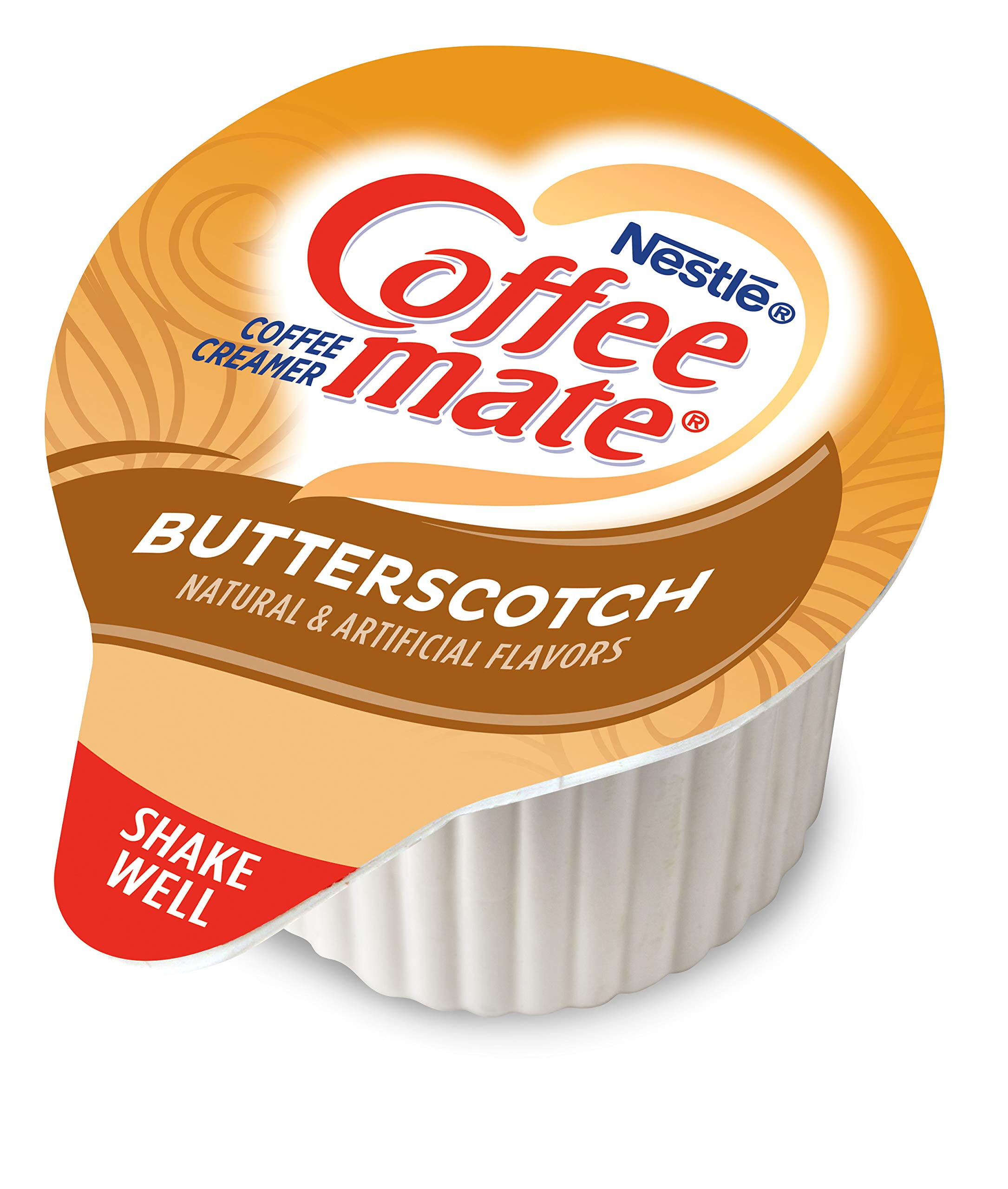 Nestle Coffee-mate Coffee Creamer, Butterscotch, Liquid Creamer Singles,50 Count (Pack of 4) by Nestle Coffee Mate (Image #3)