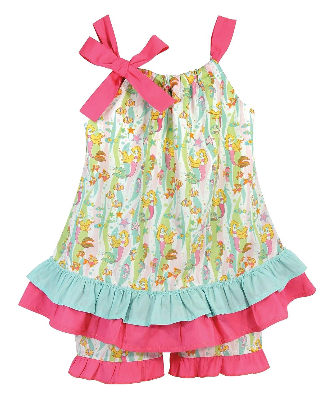 Stephan Baby Baby-Girls Go Fish Beach Pillowcase Dress