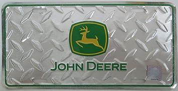 John Deere Diamond Plate License Plate - KE62564 & Amazon.com: John Deere Diamond Plate License Plate - KE62564: Automotive