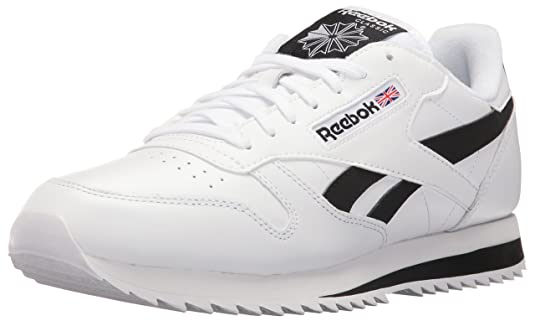 reebok classic leather ripple low bp mens running shoes