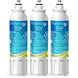 Waterdrop NSF 53&42 Certified LT800P Replacement Refrigerator Water Filter, Compatible with LG LT800P, ADQ73613401, Kenmore 9490, 46-9490, 469490, ADQ73613402, Advanced, Pack of 3