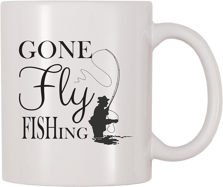 Gone Fly Fishing Mug