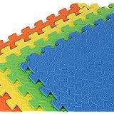 Gallant Foam Play Mat - 1.2cm Thick Soft EVA Interlocking Foam Floor Mats for Children / Jigsaw Puzzle Blocking Board Fun recreation Kids playmats / Square tiles Set