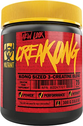 Mutant Creakong 300G of Delivering Sheer Unadulterated Size and Power, A Creatine Blend That Delivers Only Pure Creatines from The World s Leading Creatine Sources.