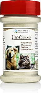 Vitality Science URO-Cleanse for Dogs - Bladder Health and Control