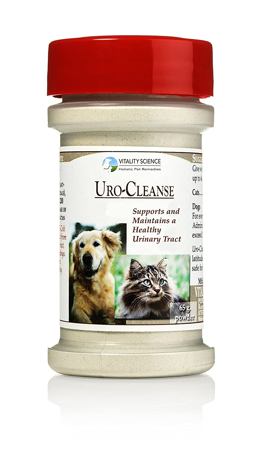 Vitality Science URO-Cleanse for Cats | Maintains a Healthy Urinary Tract | Helps Bladder Control | Improves Kidney Health | Maintains Urine pH | Boosts Immune System | No Side Effects | 100% Natural