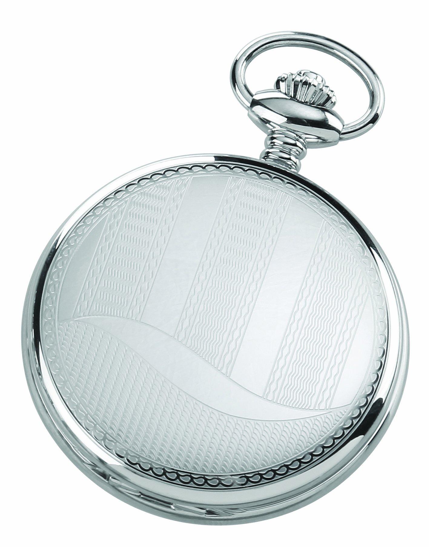 Charles-Hubert, Paris 3914 Premium Collection Analog Display Quartz Pocket Watch