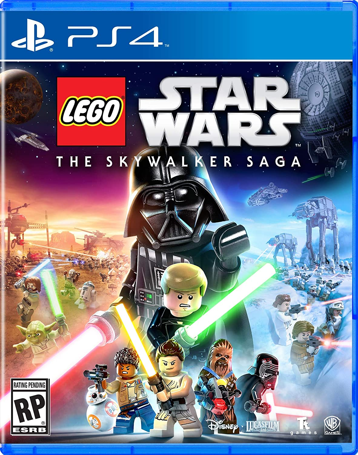 Lego Star Wars Skywalker Saga for PlayStation 4 [USA]: Amazon.es: Whv Games: Cine y Series TV