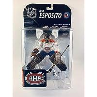 $59 » McFarlane Toys NHL Series 19 Tony Esposito Montreal Canadiens White Jersey Figure