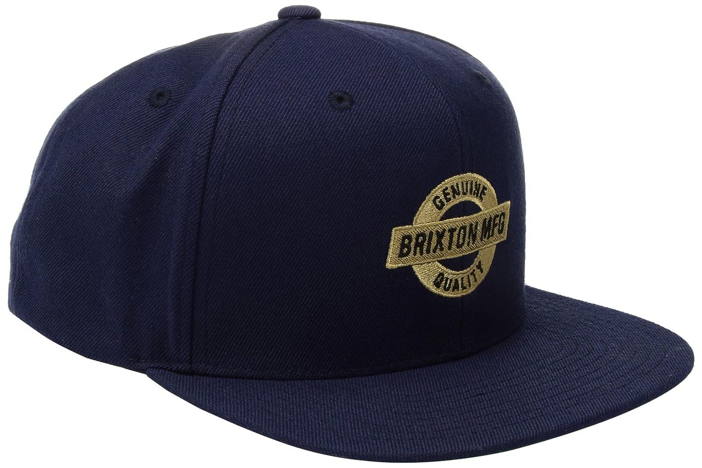 Brixton Unisex Cap Newell Snapback Brixton Newell Snapback Cap Black One Size BRIJH #Brixton