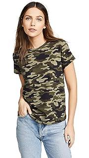 Amazon.com  Pam   Gela Women s Striped Tee  Clothing bd83215b5
