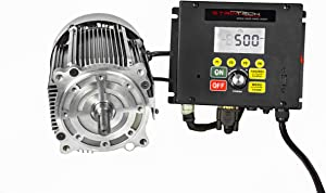 Striatech 750W/1Hp 115V Switched Reluctance Smart Motor & Controller, Model: 53018