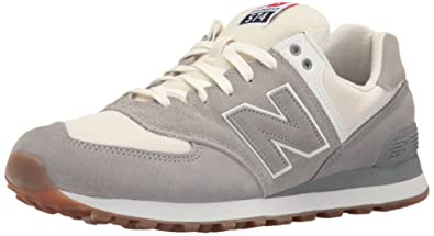 new balance men's 574 retro sport casual sneakers