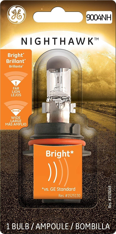 GE Lighting 9004NH/BP Nighthawk Halogen Replacement Bulb