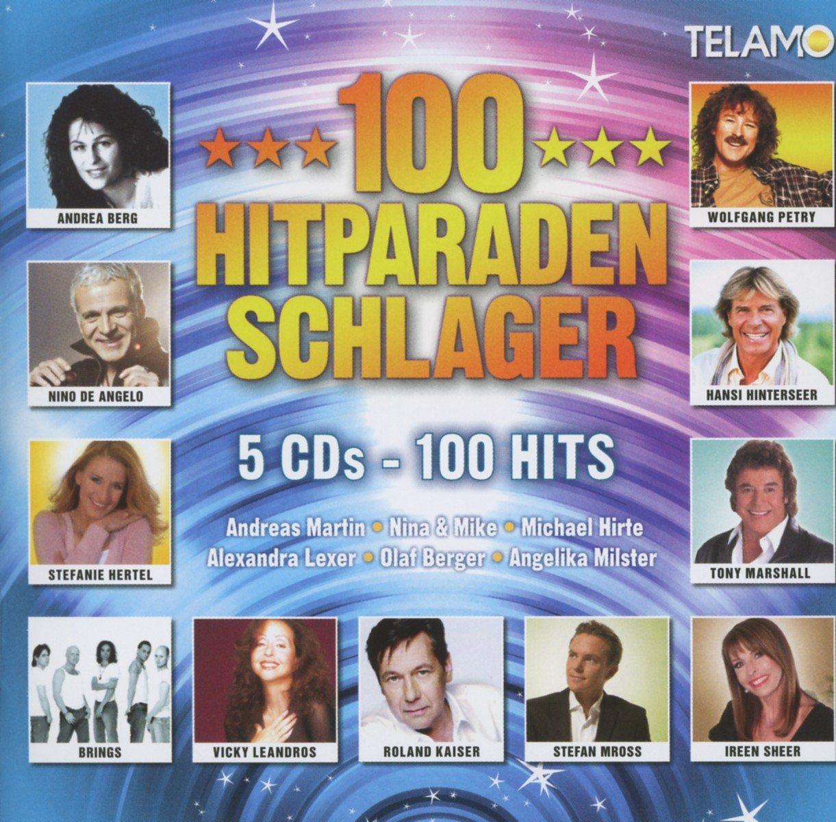 100 Hitparaden Schlager - Various: Amazon.de: Musik