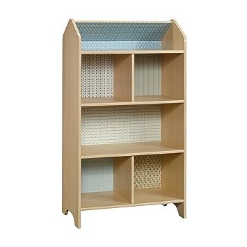 Amazon.com: Sauder Pinwheel estantería/casa de muñecas en ...