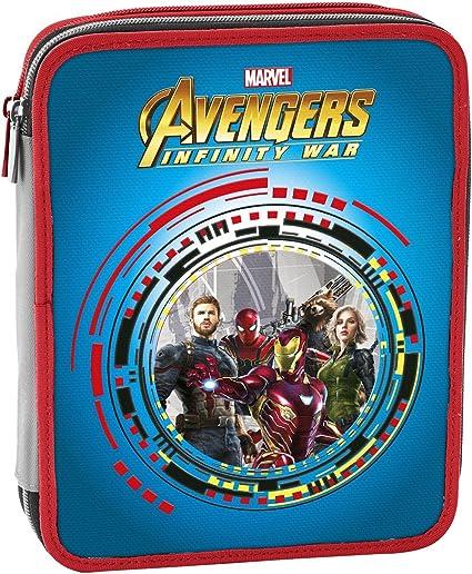 Estuche Maxi 2 bisagras Avengers infinity War attrezzato Seven: Amazon.es: Oficina y papelería