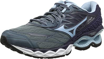 Mizuno Wave Creation 20, Zapatillas de Running para Mujer, Negro (Graphite/Cool Blue/Black 25), 41 EU: Amazon.es: Zapatos y complementos