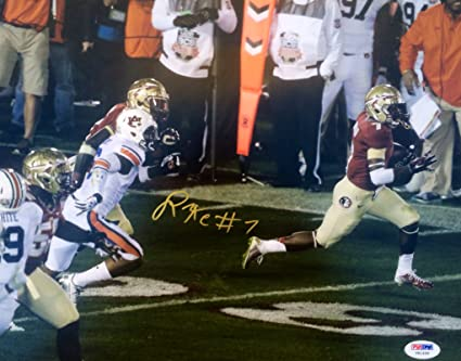 new product 2bb43 bd785 Kermit Whitfield Signed Florida State Seminoles 11x14 Photo ...