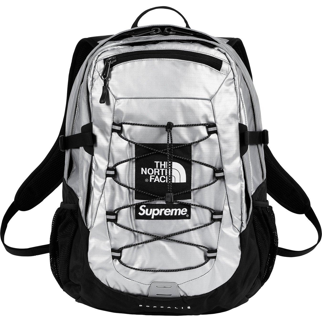 Supreme® / The North Face® Metallic Borealis BackpackSilver18SS ( シュプリーム / ノースフェイス メタリック ボレアリス バックパック シルバー 18SS)[国内正規品] B07C13F3SKSilver