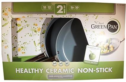 Greenpan - Juego de 2 sartenes Green Pan