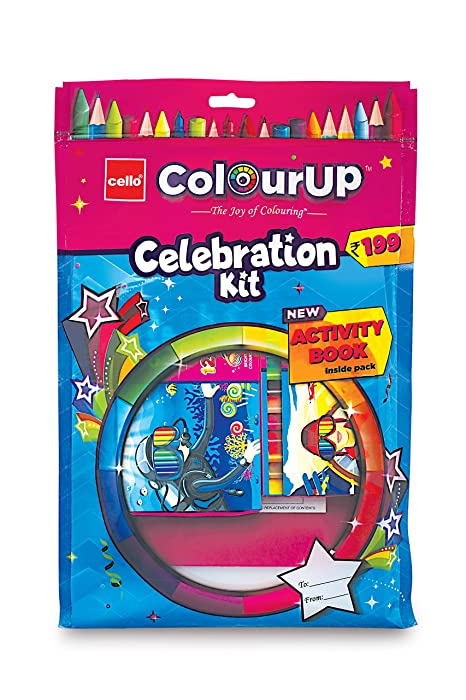[Apply coupon] Cello ColourUp Celebration Kit - Mega Gift Pack