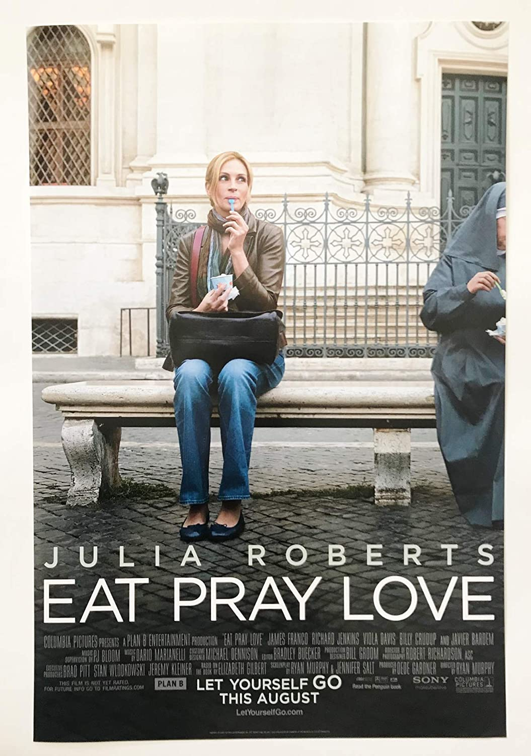 Image result for Theatrical poster for Eat, Pray, Love