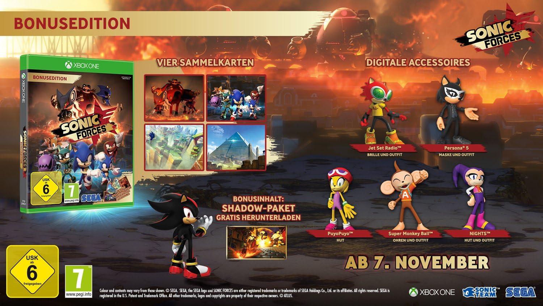 Sonic Forces Day One Edition - Xbox One [Importación alemana]: Amazon.es: Videojuegos