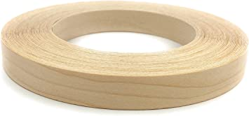 Made In USA. White Pine 3//4 X 50 Roll Preglued Easy Application Iron On with Hot Melt Adhesive Flexible Wood Tape Smooth Sanded Finish. Wood Veneer Edge banding