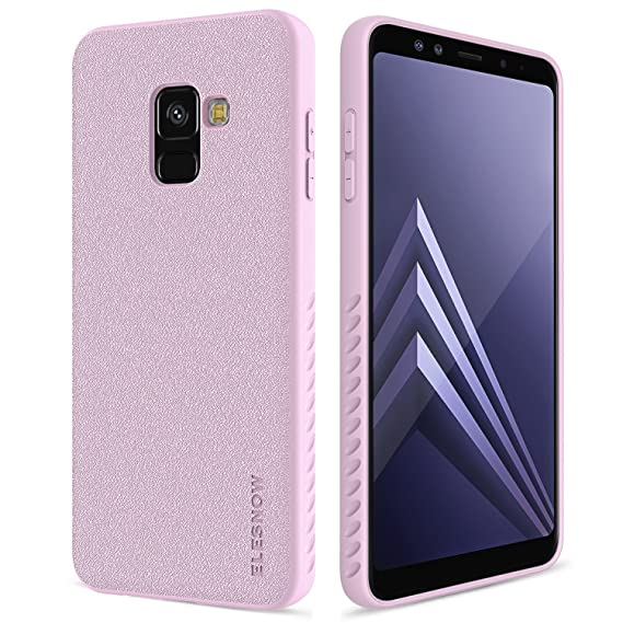 online store 5f13b e74c8 Samsung Galaxy A8 2018 Case, ELESNOW Soft Durable Flexible [Scratch  Resistant] with Resilient Shock Absorption and Anti-fingerprint Design  Durable ...