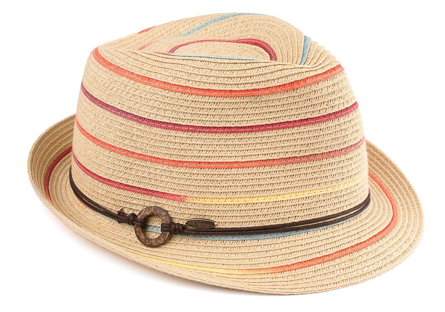 e1bc31c7e Black Horn Light Weight Classic Soft Cool Mesh Fedora hat - Amazon ...