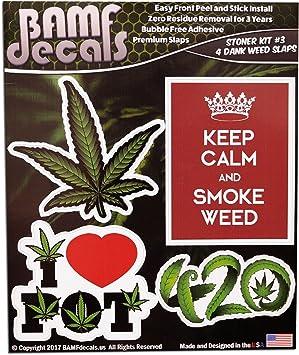 I Love Washington Pot Marijuana Vinyl Decal Glass Window Sticker