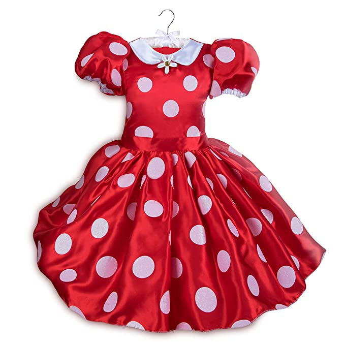 c13a0ca77 Amazon.com  Disney Minnie Mouse Red Dress Costume Kids Red  Clothing