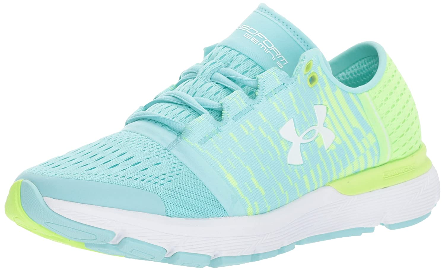 Under Armour Women's Speedform Gemini 3 Graphic Running Shoe B01MYY44DL 8.5 M US|Blue Infinity (301)/Quirky Lime
