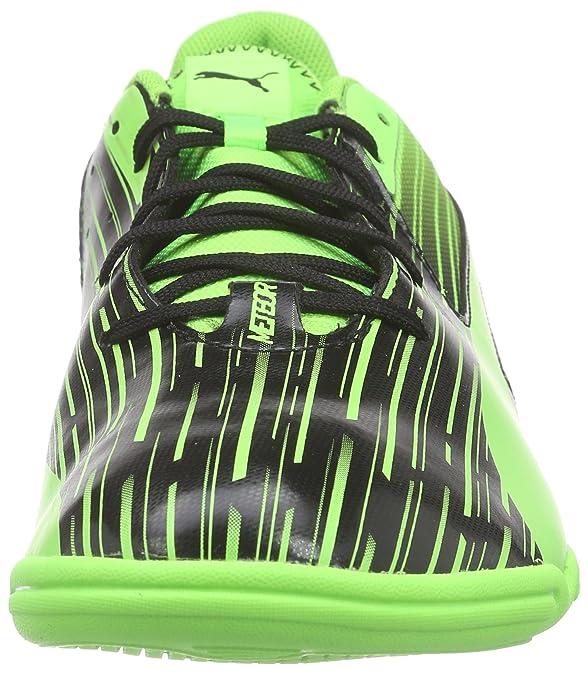 PumaMeteor Sala LT - Zapatos de Futsal Hombre, Color Amarillo, Talla 43