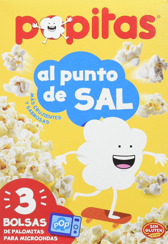 BORGES POPITAS - Palomitas micro p4 estuche 400GR: Amazon.es ...