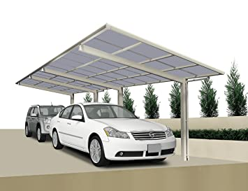 Ximax Design Carport Lineatyp 60 Tandem Ausfuhrung Edelstahl Look