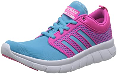 9c88e9bd29f6 adidas Neo Cloudfoam Groove Womens Running Sneakers Shoes-Blue-5
