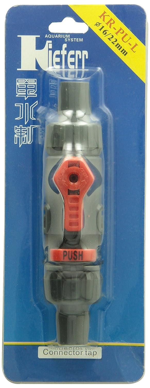 Amazon.com : eDealMax Válvula de Control de Flujo de Agua acuario/manguera de conexión de tubo por Pipe 16 mm / 22 mm de diámetro : Pet Supplies