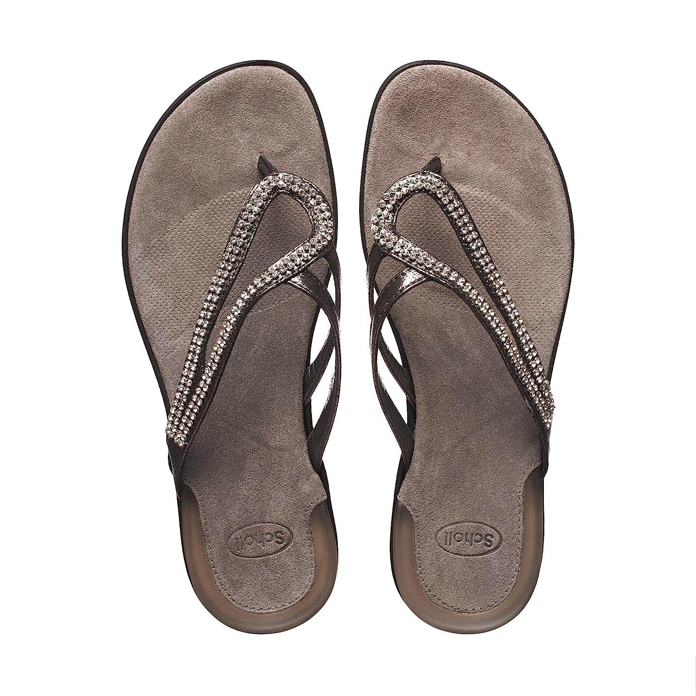c35166f8405fc5 Scholl Lulu Glitter Avec Perles synthétiques Couleur Pewter Taille 35:  Amazon.fr: Chaussures et Sacs
